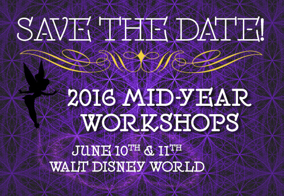 Save the Date! Come attend the 2016 Mid-Year Workshops at Disney World - starting Friday, June 10th & Saturday, June 11th. Attend the Picture Book Comprehensive, the Illustrator Comprehensive, or a special Two-Day Novel/Comprehensive Retreat. Workshop tracks to include: Picture Book, Middle Grade, Young Adult, and Graphic Novel. The Novel Comprehensive/Retreat will be an intense venture into writing and revising novels led by Jonathan Maberry and Lorin Oberweger - space is limited (25) to this exrtraordinary opprotunity, and is open to SCBWI members only. Registration available March 1st.